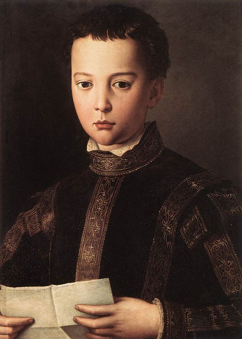 Francesco de Medici. Agnolo Bronzino