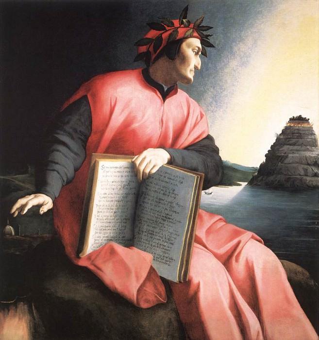 Аллегорический портрет Данте. Аньоло Бронзино