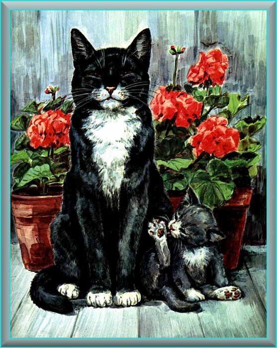 Ds-Cats Art 02 Marge Opitz Buridge. Мардж Опитц Буридж