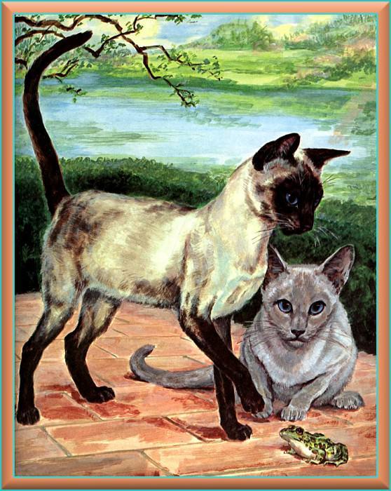 Ds-Cats Art 03 Marge Opitz Buridge. Marge Opitz Buridge