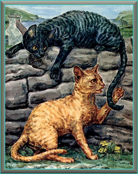 Ds-Cats Art 07 Marge Opitz Buridge. Мардж Опитц Буридж