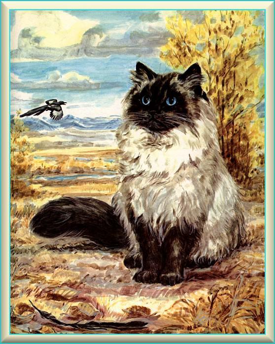 Ds-Cats Art 12 Marge Opitz Buridge. Мардж Опитц Буридж