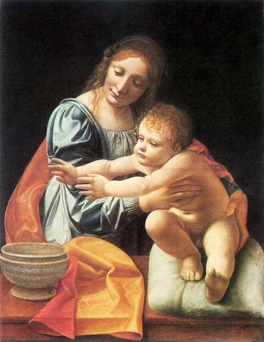 The Virgin and Child 1490s. Giovanni Antonio Boltraffio