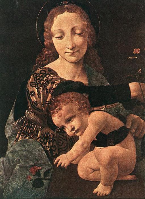 Virgin and Child with a Flower Vase. Giovanni Antonio Boltraffio