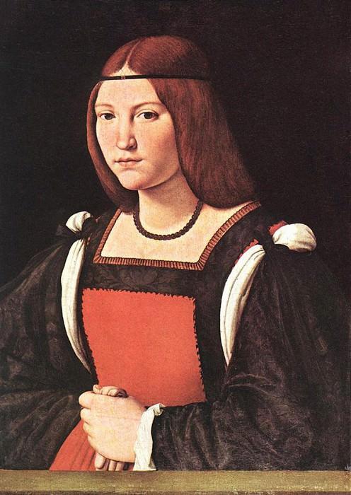 Portrait of a Young Woman. Giovanni Antonio Boltraffio