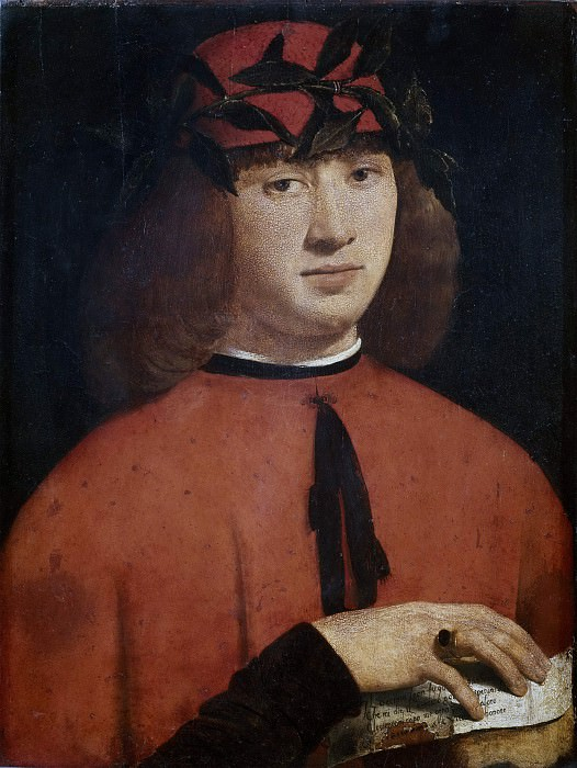 Portrait of Gerolamo Casio. Giovanni Antonio Boltraffio