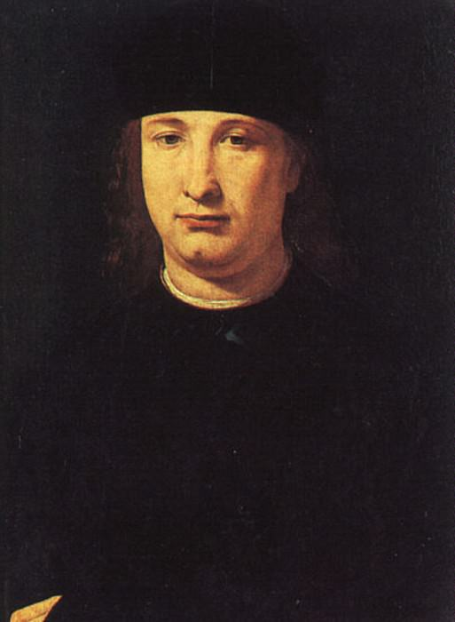 The Poet Casio 1490 1500. Giovanni Antonio Boltraffio