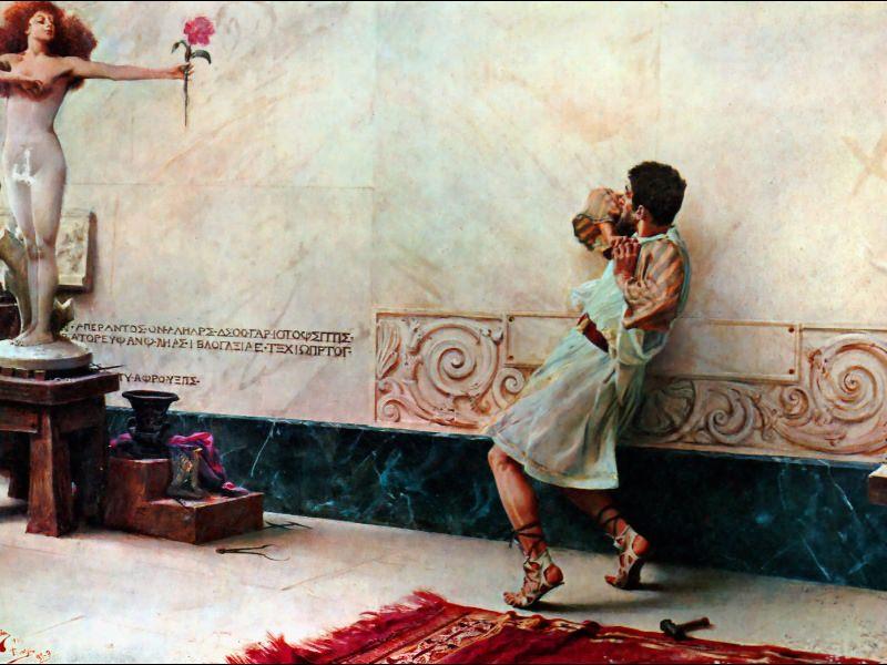 Pigmalion y Galatea. Giulio Bargellini