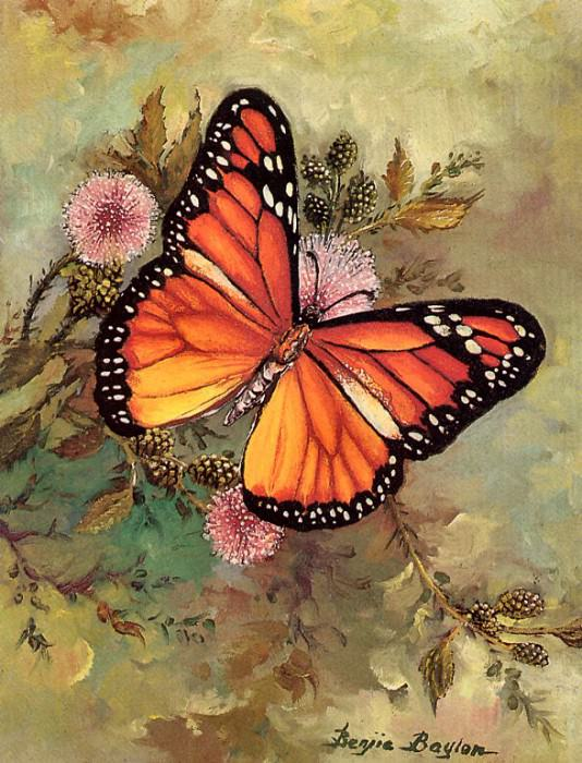 Butterfly (mouthpainted). Benjie Baylon