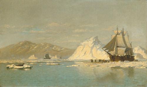 Off Greenland. William Bradford