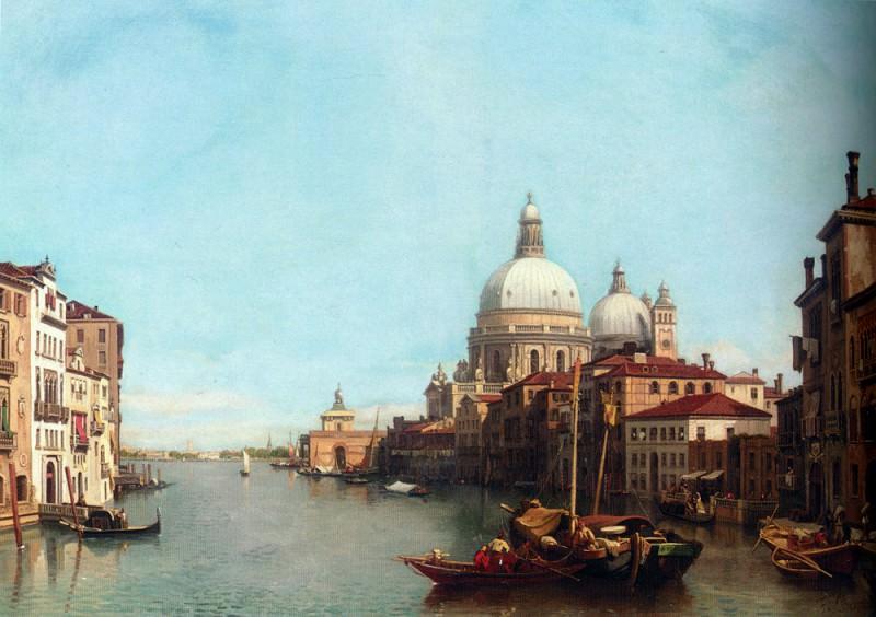 Le Grande Canal Venise 1878. Francois Antoine Bossuet