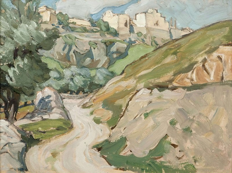 The Road to Jerusalem. Study. Anna Katarina Boberg