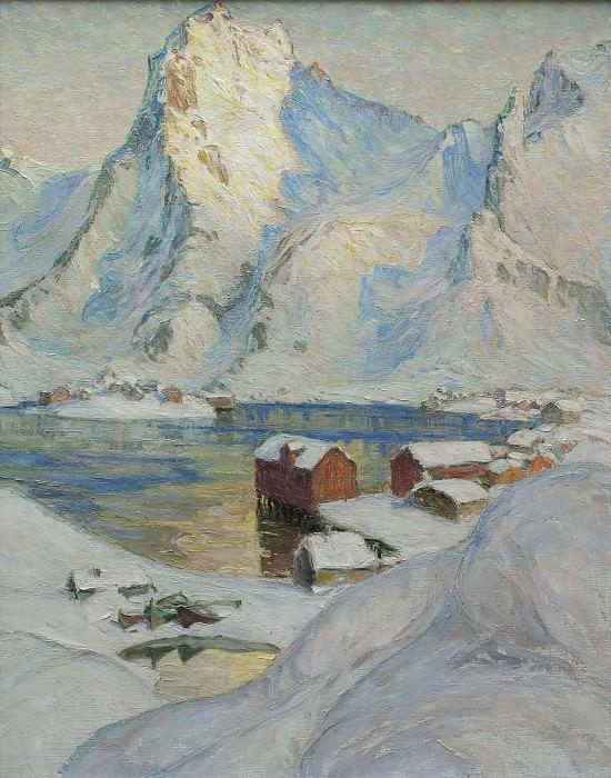 День арктической весны. Этюд из Северной Норвегии. Анна Боберг