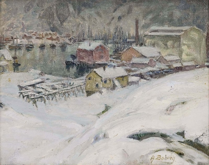 Overcast Weather. Study from North Norway. Anna Katarina Boberg