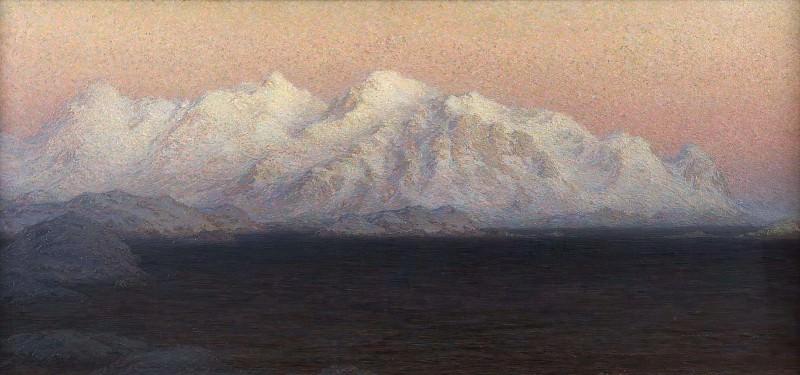 Mountains. Study from North Norway. Anna Katarina Boberg