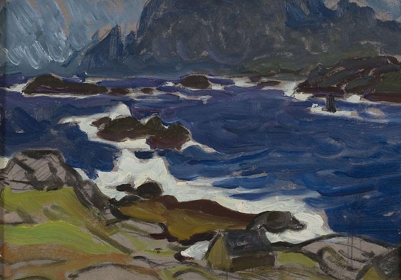 Study during a Storm. From Lofoten. Anna Katarina Boberg