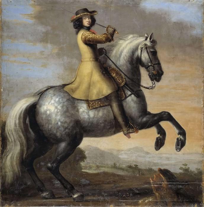 Karl XI, 1655-1697, kung av Sverige, pfalzgreve av Zweibrücken. Anna Katarina Boberg (Attributed)
