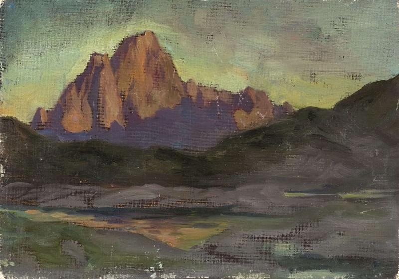 Vaagakallen. Study from Lofoten. Anna Katarina Boberg