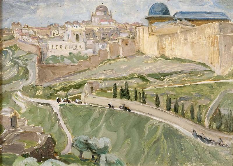 By Jerusalem. Study. Anna Katarina Boberg