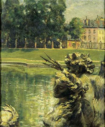 Пруд Нептуна в Версале. Джеймс Кэрролл Беквит