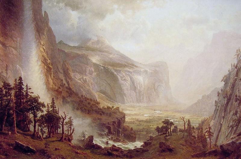 Купола Йосемитского национального парка. Альберт Бирштадт