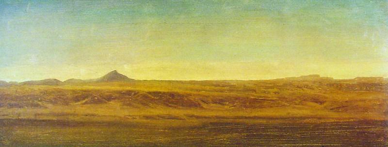 On the Plains. Albert Bierstadt