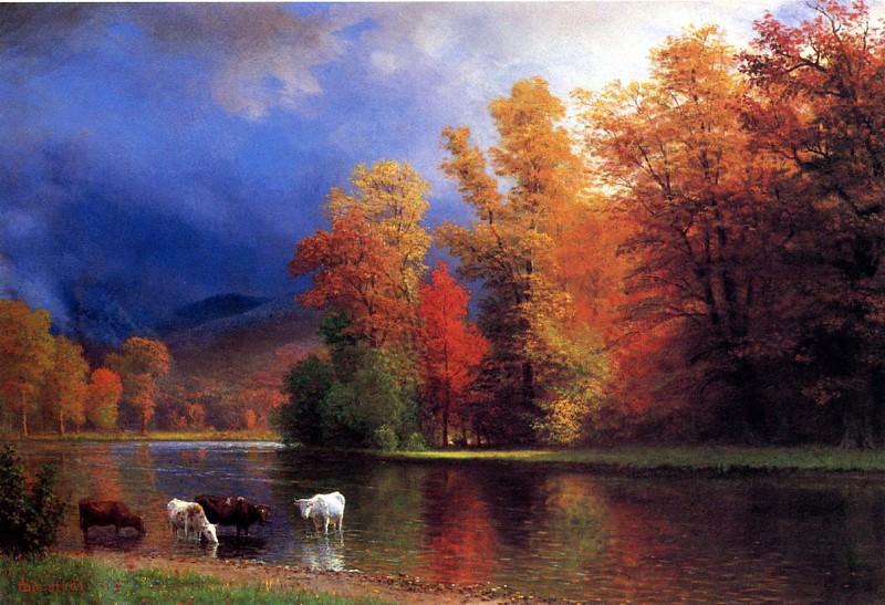 На озере Сако. Альберт Бирштадт