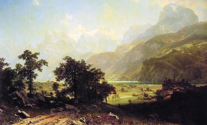 Lake Lucerne. Альберт Бирштадт