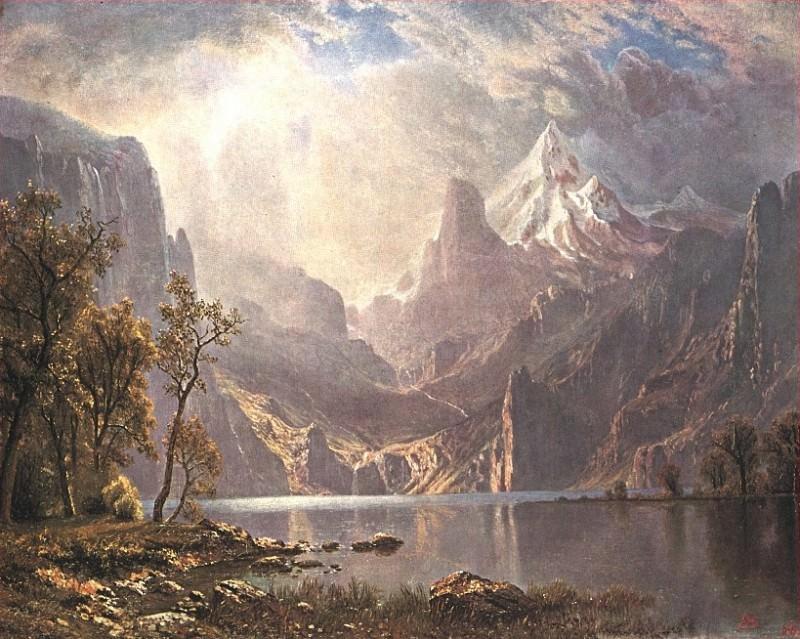 Озеро Тако. Альберт Бирштадт