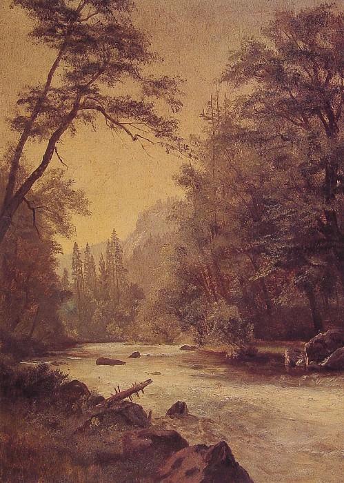 Нижняя часть Йосемитской долины. Альберт Бирштадт