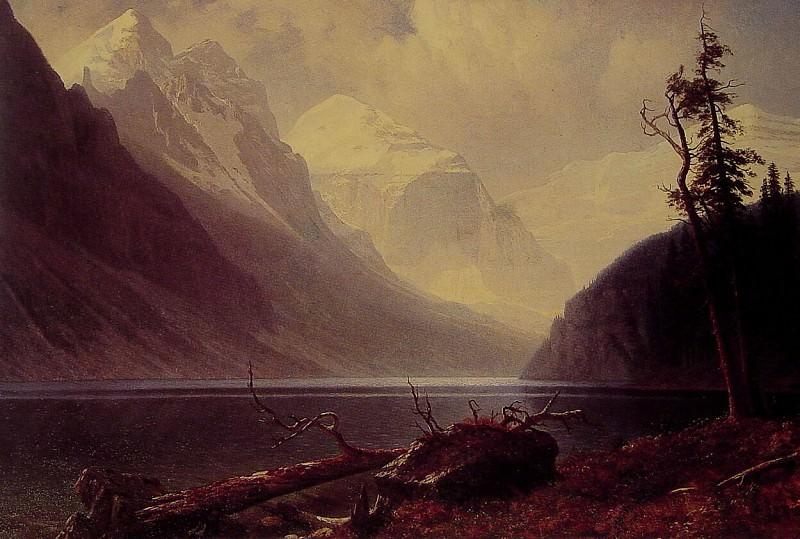 Lake Louise. Albert Bierstadt