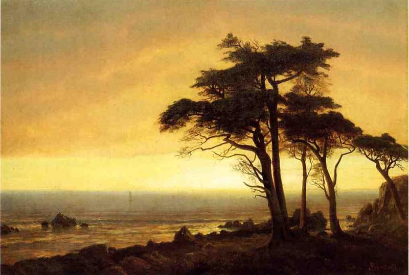 California Coast. Albert Bierstadt