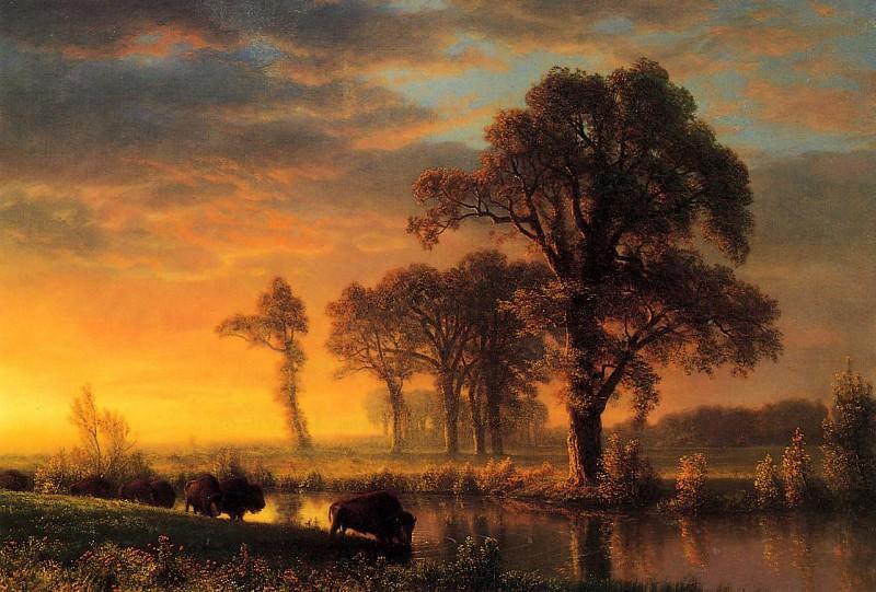 Western Kansas. Albert Bierstadt