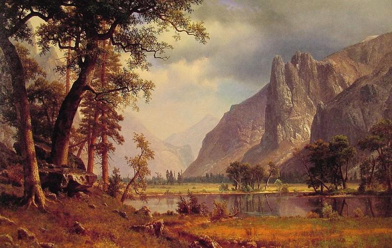 Yosemite Valley. Albert Bierstadt
