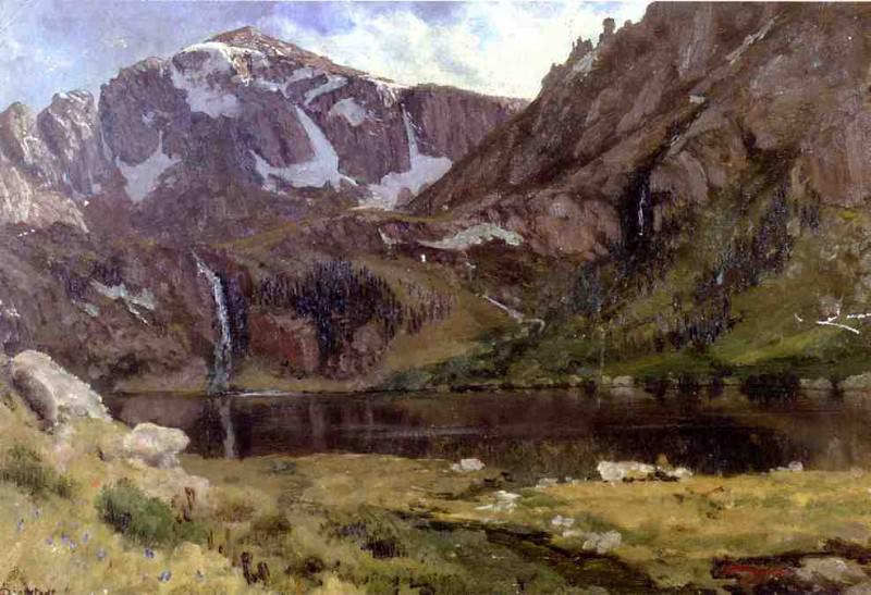 Горное озеро. Альберт Бирштадт