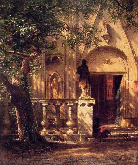 Sunlight and Shadow. Albert Bierstadt