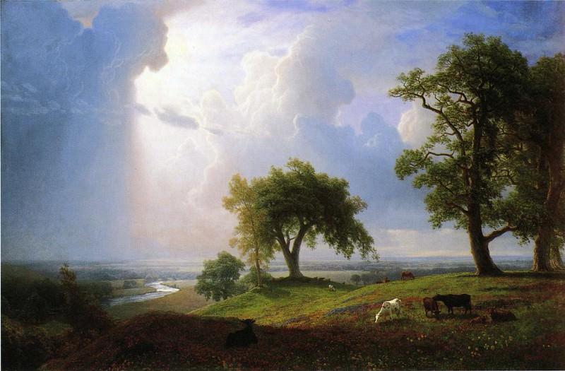 California Spring. Albert Bierstadt