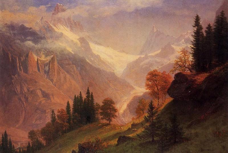 Вид на долину Грюнвальд. Альберт Бирштадт