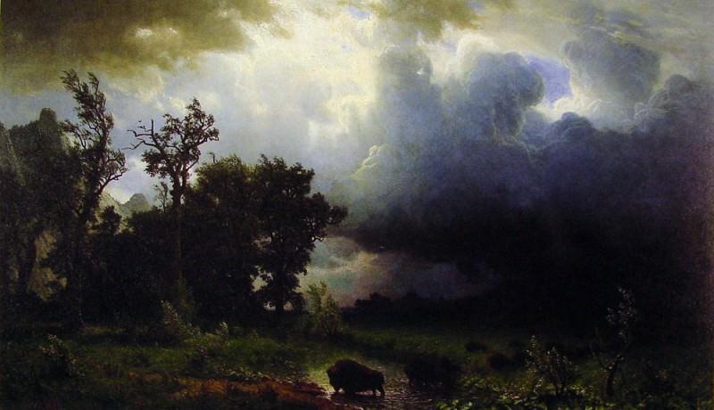 Тропа бизонов. Альберт Бирштадт