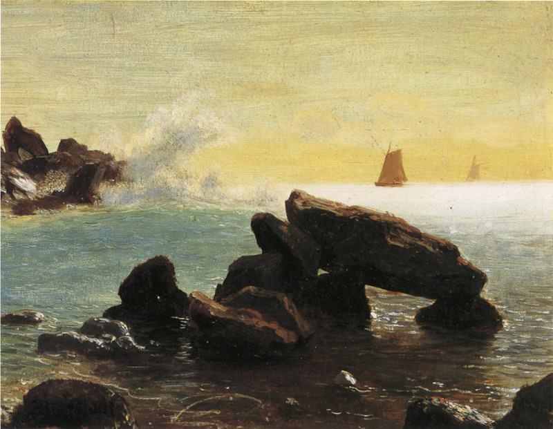 Фарралоновы острова в Калифорнии. Альберт Бирштадт