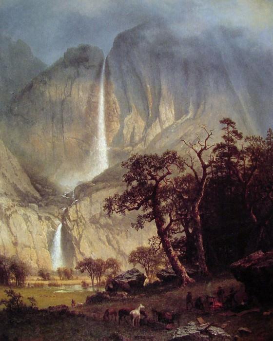 Водопад Чо-лук. Альберт Бирштадт