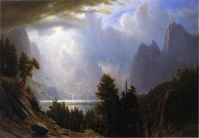 Landscape. Albert Bierstadt