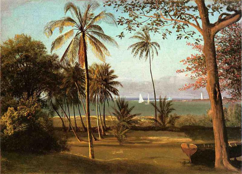 Florida Scene. Albert Bierstadt