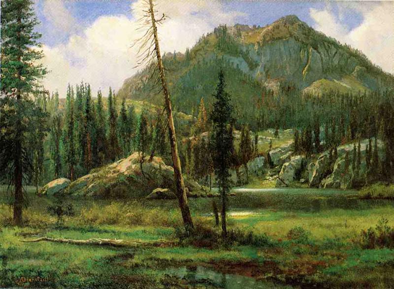 Горы Сьерра-Невада (Кордильеры). Альберт Бирштадт