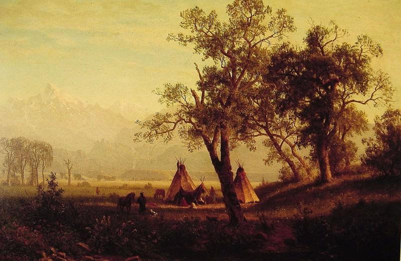 Wind River Mountains. Albert Bierstadt