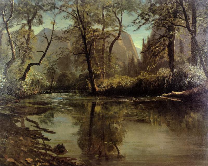 Yosemite Valley California. Albert Bierstadt