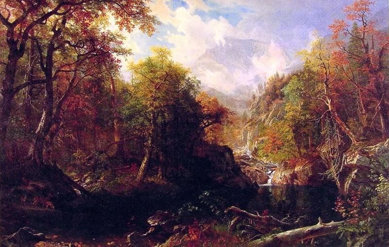 The Emerald Pool. Albert Bierstadt