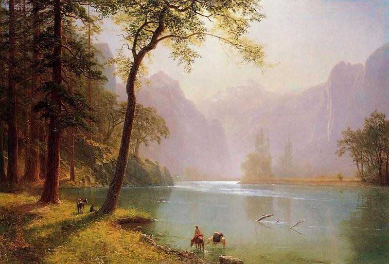 Kern-s River Valley California. Albert Bierstadt