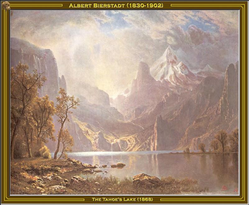 Озеро Тахо (1868). Альберт Бирштадт