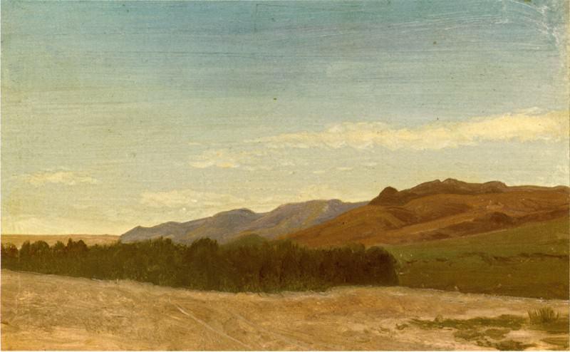 Равнины вблизи форта Ларами. Альберт Бирштадт